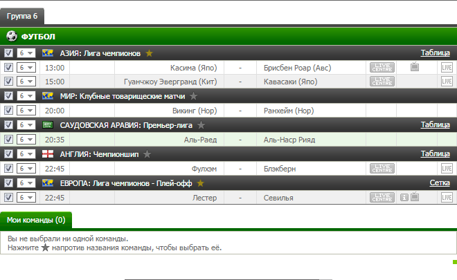 Бесплатный прогноз на футбол на 14.03.2017