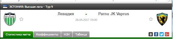 Левадия - Пярну