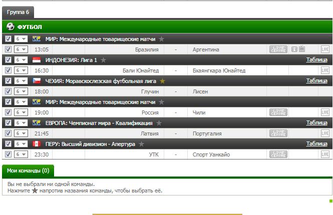 Бесплатный футбольный прогноз на 9.06.2017