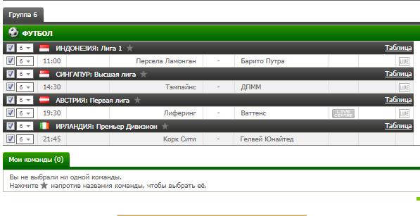 Бесплатный футбольный прогноз на 28.07.2017
