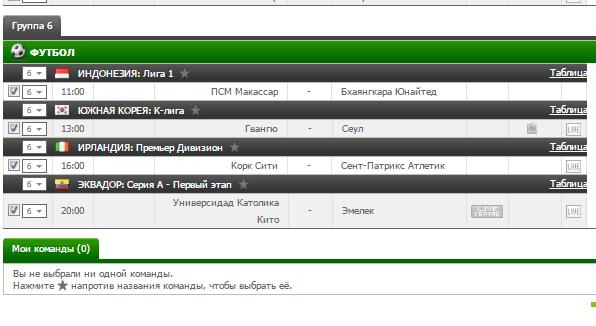 Бесплатный футбольный прогноз на 9.07.2017