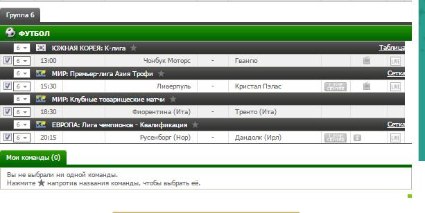 Бесплатный футбольный прогноз на 19.07.2017