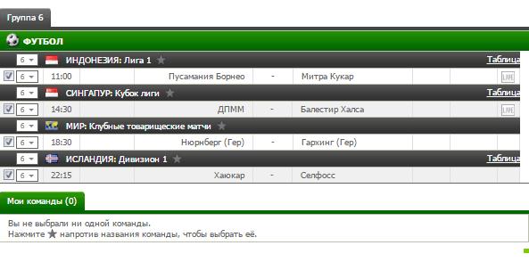 Бесплатный футбольный прогноз на 11.07.2017