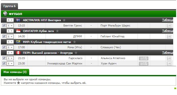 Бесплатный футбольный прогноз на 14.07.2017