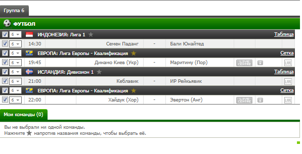 Бесплатный футбольный прогноз на 24.08.2017