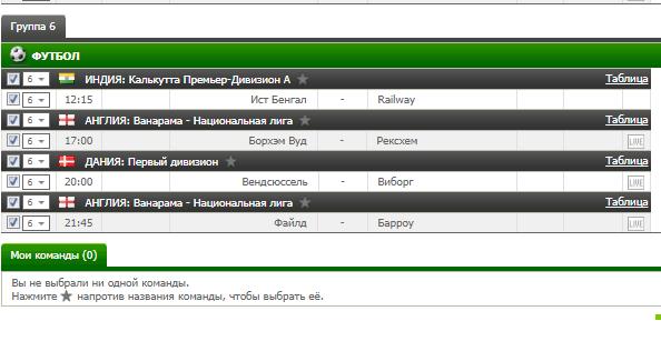 Бесплатный футбольный прогноз на 28.08.2017