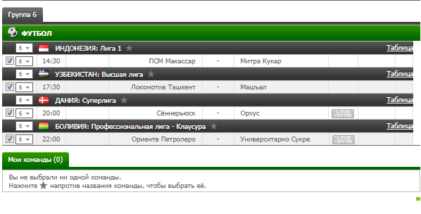 Бесплатный футбольный прогноз на 7.08.2017