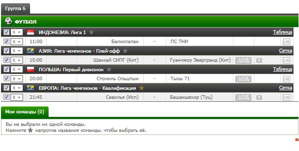 Бесплатный футбольный прогноз на 22.08.2017
