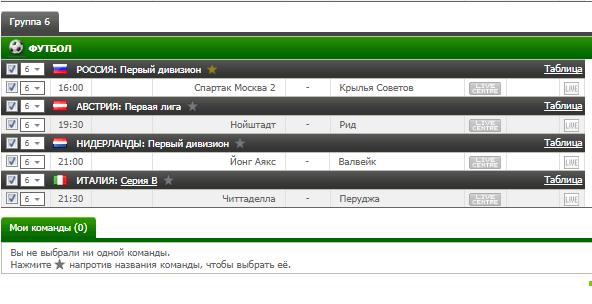 Бесплатный футбольный прогноз на 11.09.2017