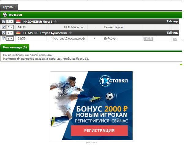 Бесплатный футбольный прогноз на 2.10.2017