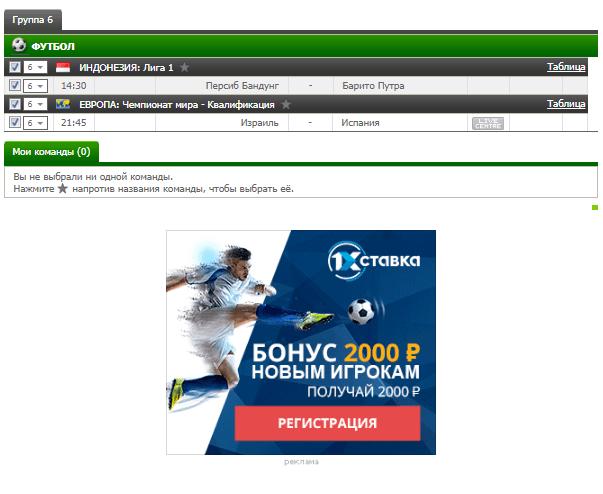Бесплатный футбольный прогноз на 9.10.2017