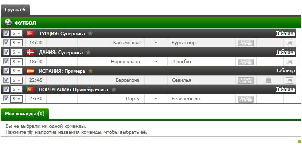 Бесплатный футбольный прогноз на 4.11.2017