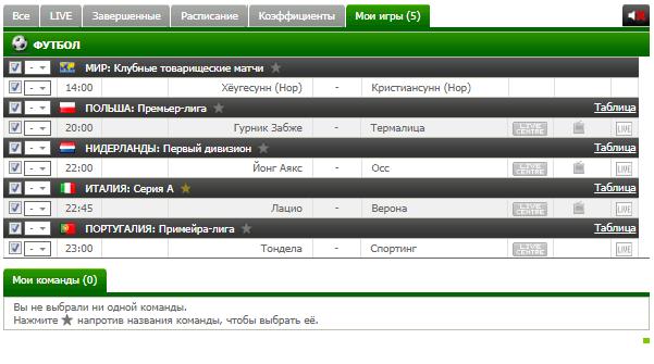 Бесплатный футбольный прогноз на 19.02.2018