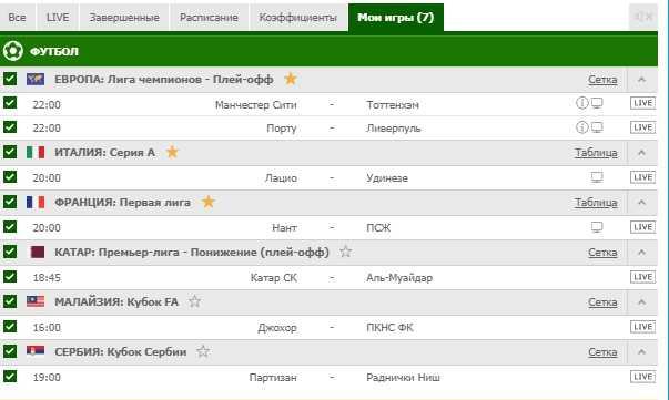 Бесплатный прогноз на футбол на 17.03.2019